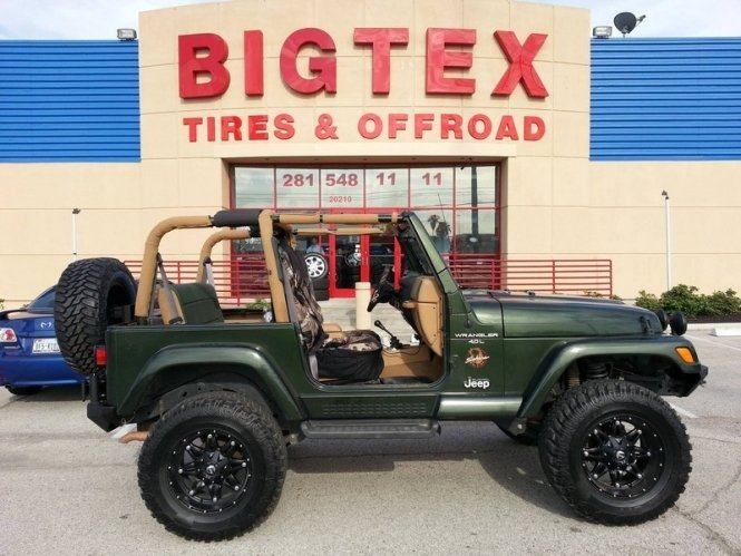Jeep Tires, Wheels, And Custom Accessories